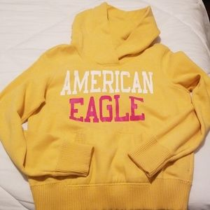 2 for $20 Yellow American Eagle Hoodie